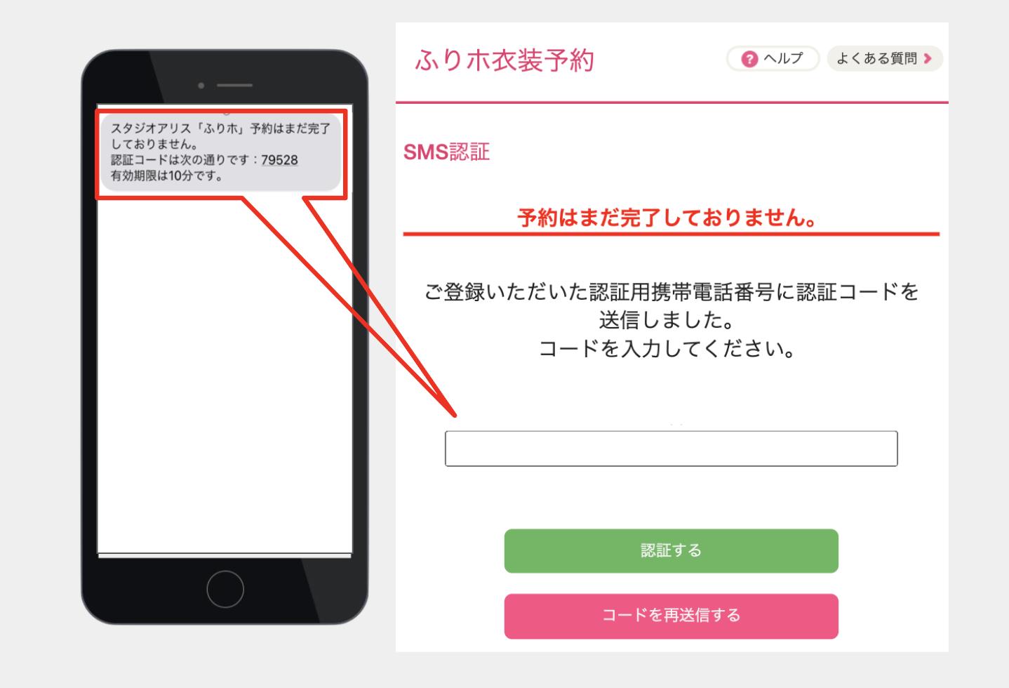 Step04:SMS認証